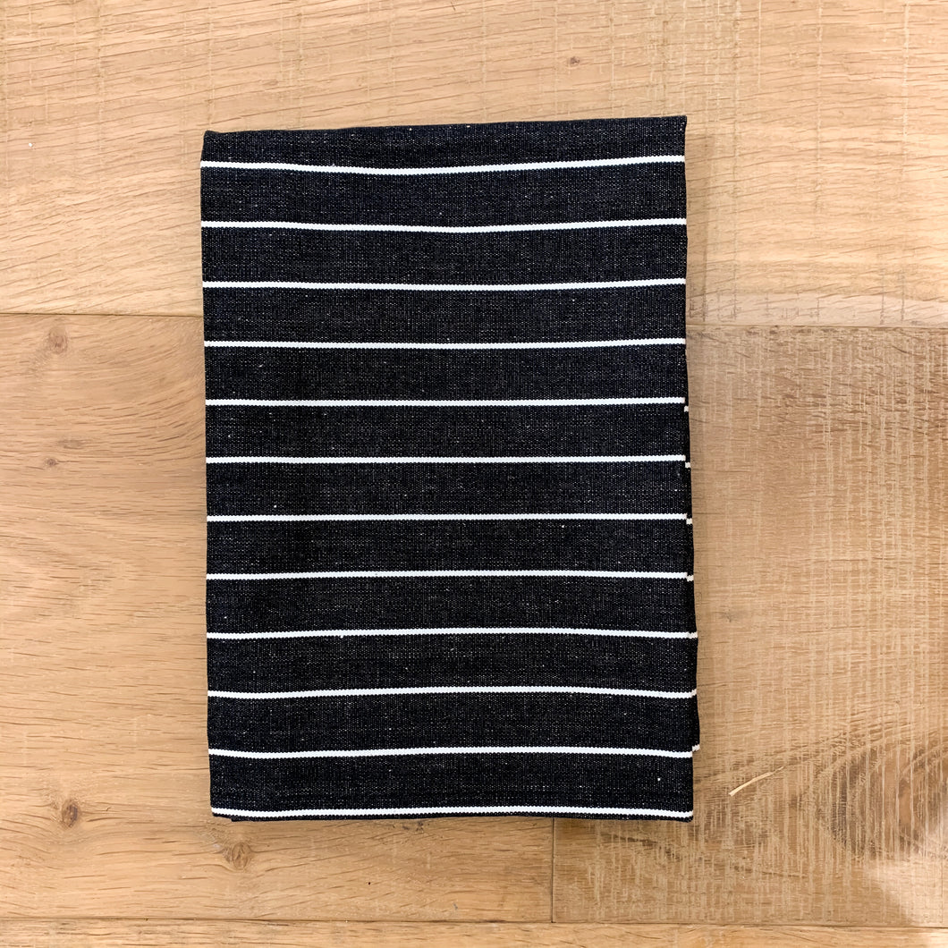 Regatta Cotton Tea Towel 50x70cm - Black Homewares nz