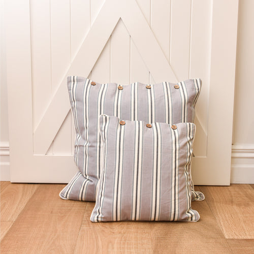 Bahamas Grey Scatter Cushion 40x40cm - Grey  Homewares nz