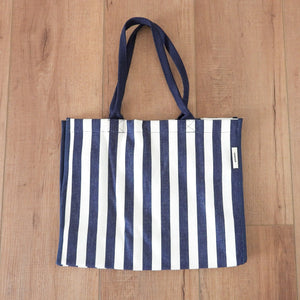 Breton Everyday Bag - Navy & White Homewares nz