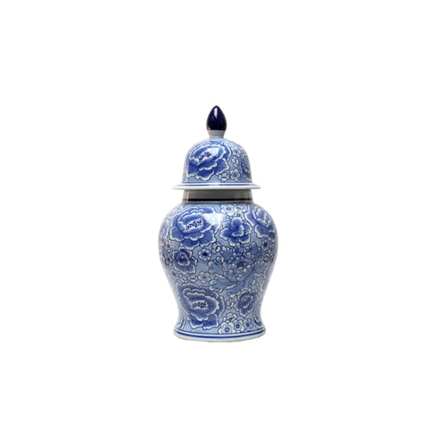 Blue & White Temple Jar 38cm