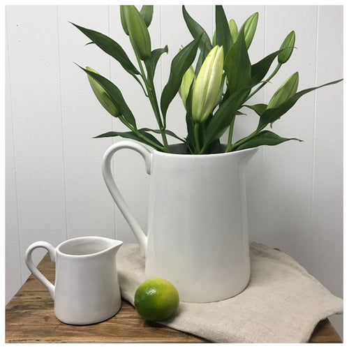 French Water Jug - Large Homewares nz