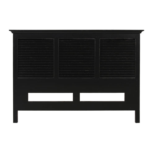 Riviera King Headboard 180cm - Black Furniture nz