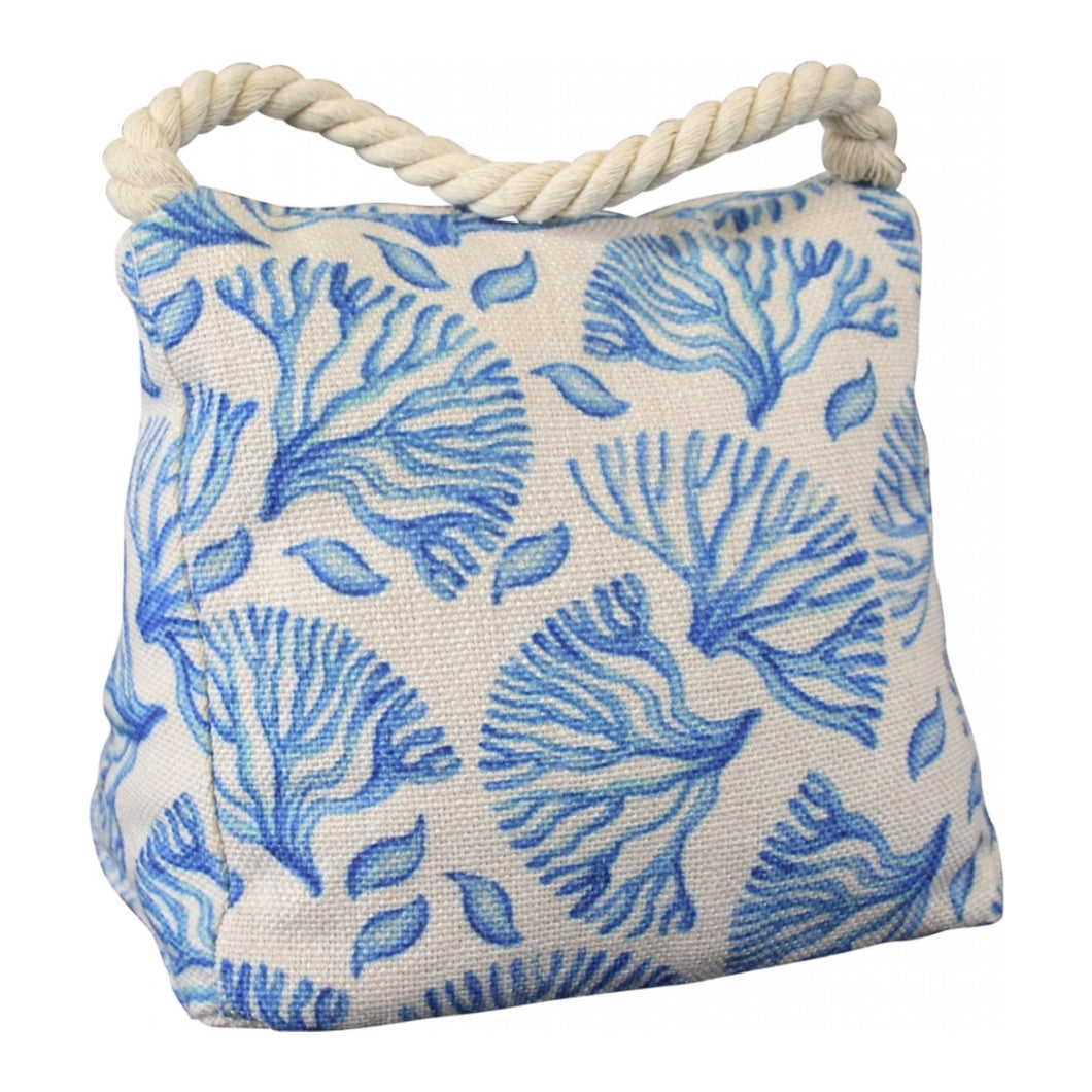 Coral Blue Doorstop  Homewares nz