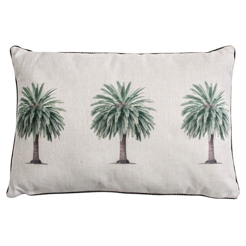 Triple Palm Cushion 40x60cm  Homewares nz