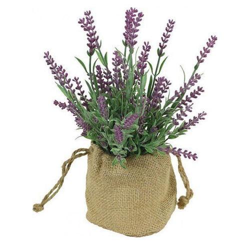 Lavender In Hessian Sack Homewares nz