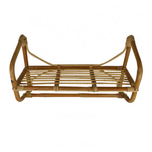 Marley Rattan Wall Rack 66cm Homewares nz