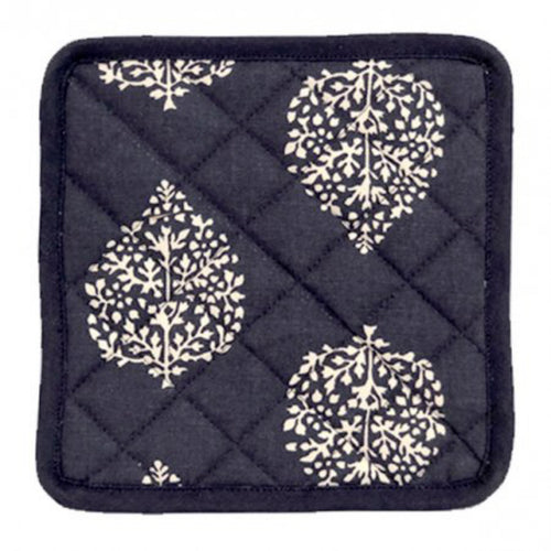 Avalon Pot Holder Set - Navy  Homewares nz