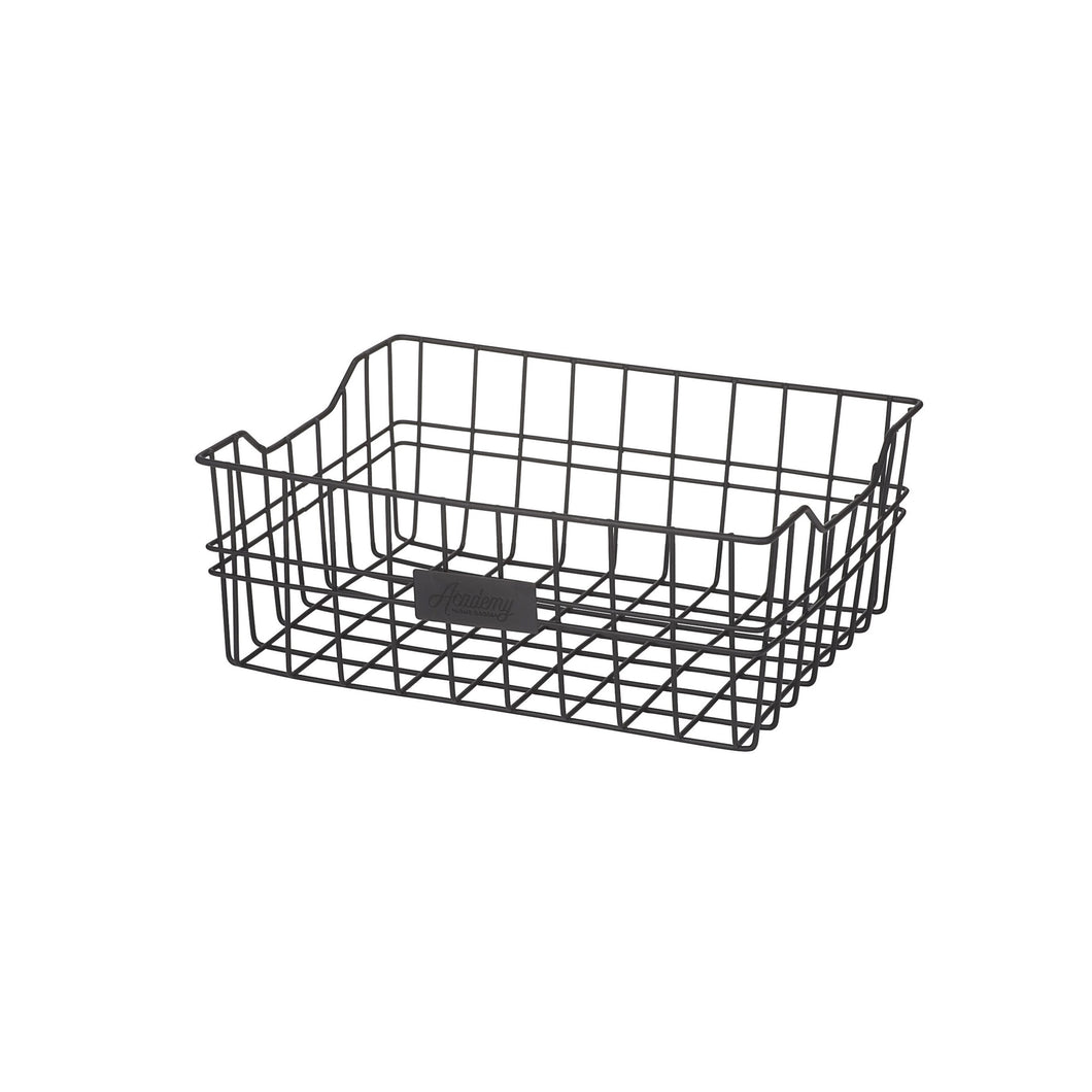 Orwell Rectangle Wire Basket 31cm - Black