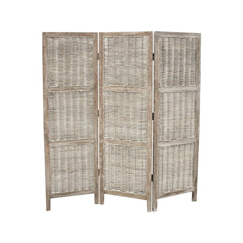 Bahamas Rattan Folding Screen Divider furniture nz
