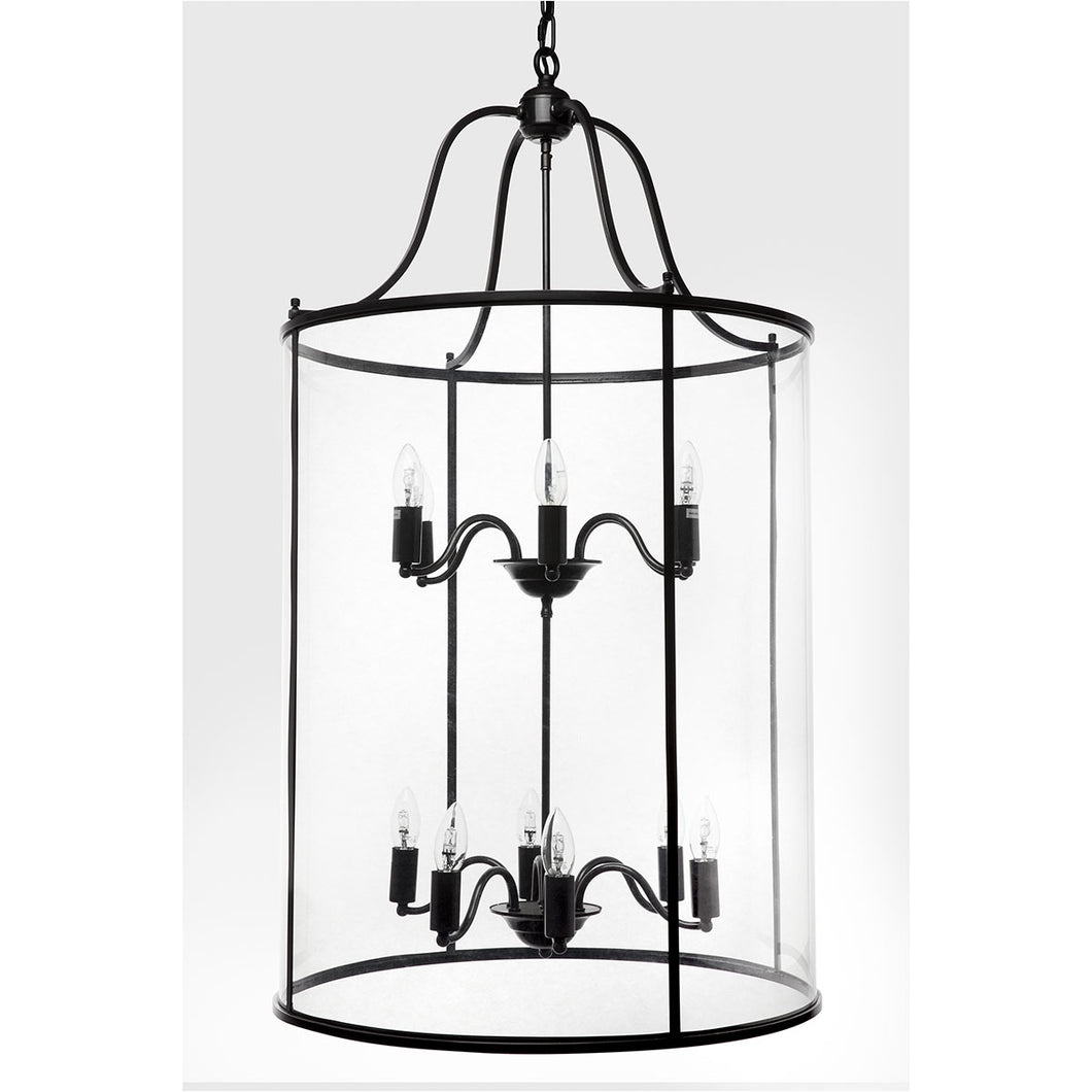 Butler Pendant Light In Black 107cm - Large