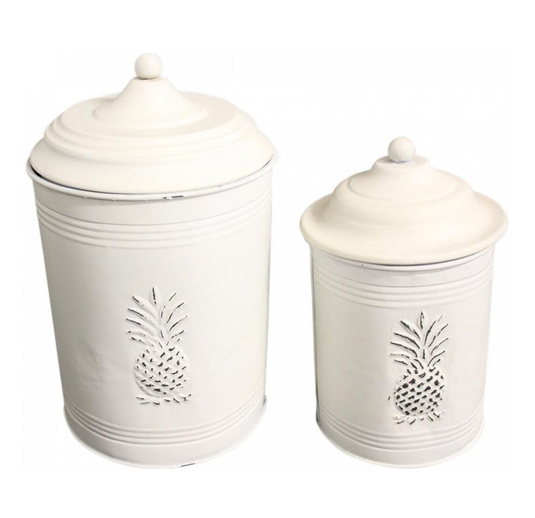 Pineapple Canister - Small Homewares nz