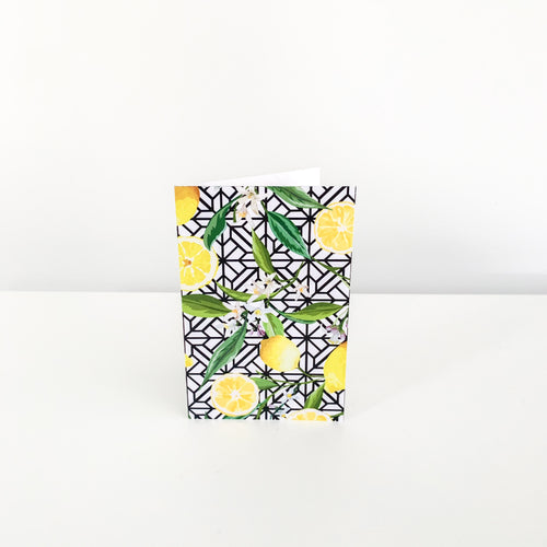 Mini Greeting Card - Lemon Trellis Homewares nz