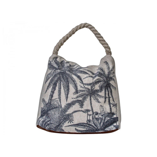 Palm Tree Black Door Stop  Homewares nz