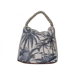 Palm Tree Black Doorstop Homewares nz