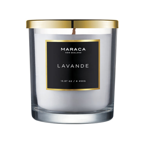 Maraca Lavande Luxury Candle 450g