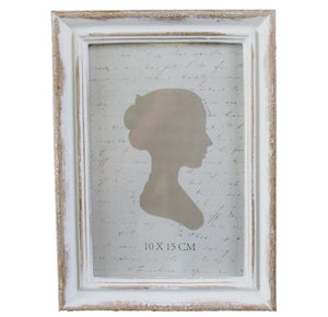 "Classiqu French White Wash Frame 5""x7""  Homewares nz"