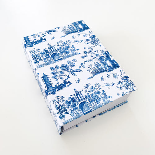 The French Villa Chinoiserie Notepad - Blue & White Homewares nz