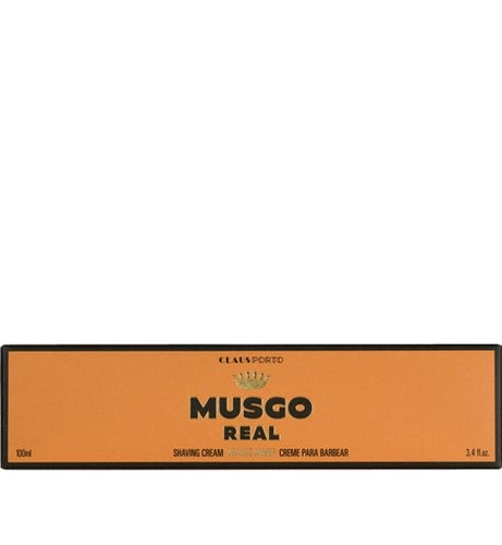 Claus Porto Musgo Orange Amber Shave Cream 100ml