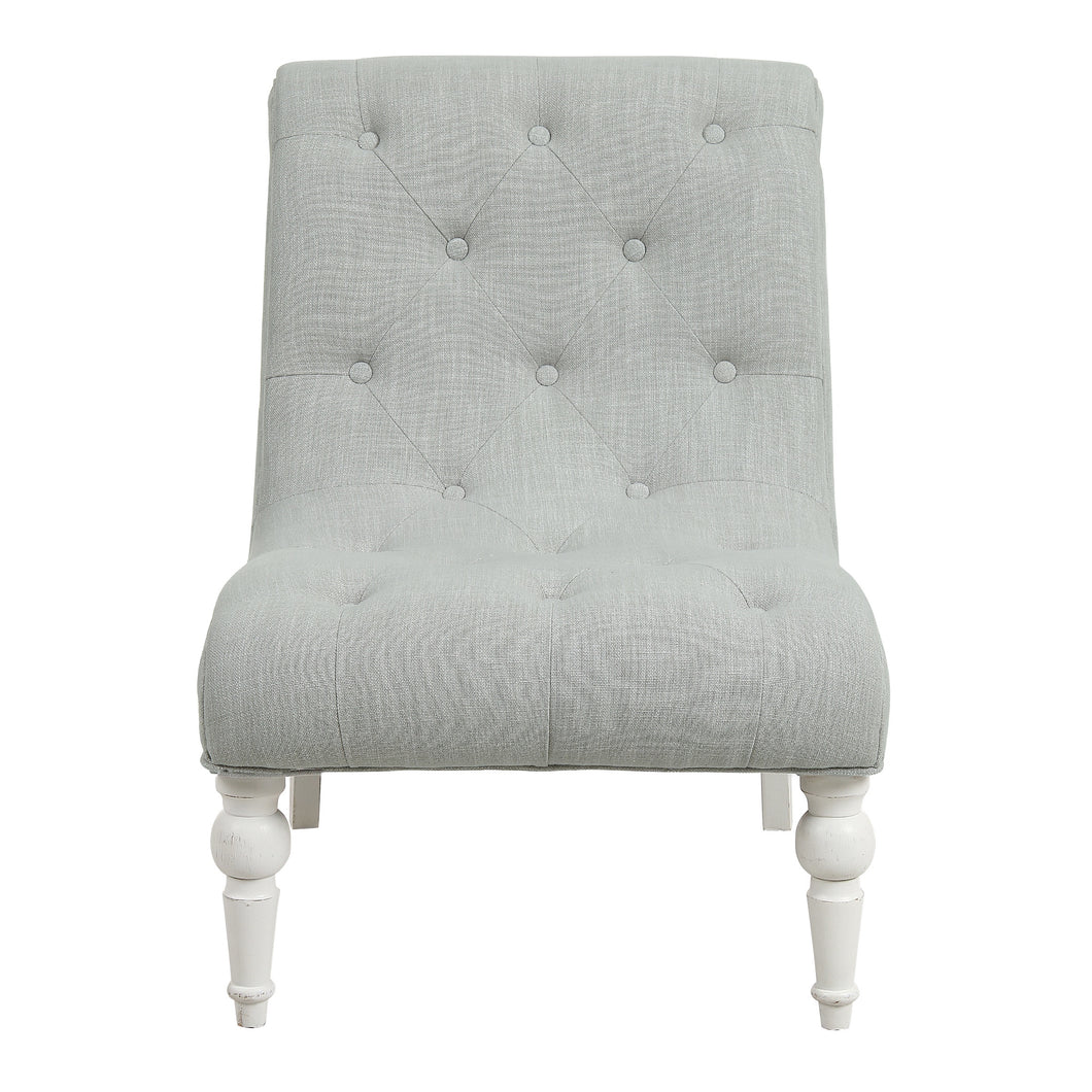 Provincial Leopold Occasional Chair - Natural / White Legs Furniture nz