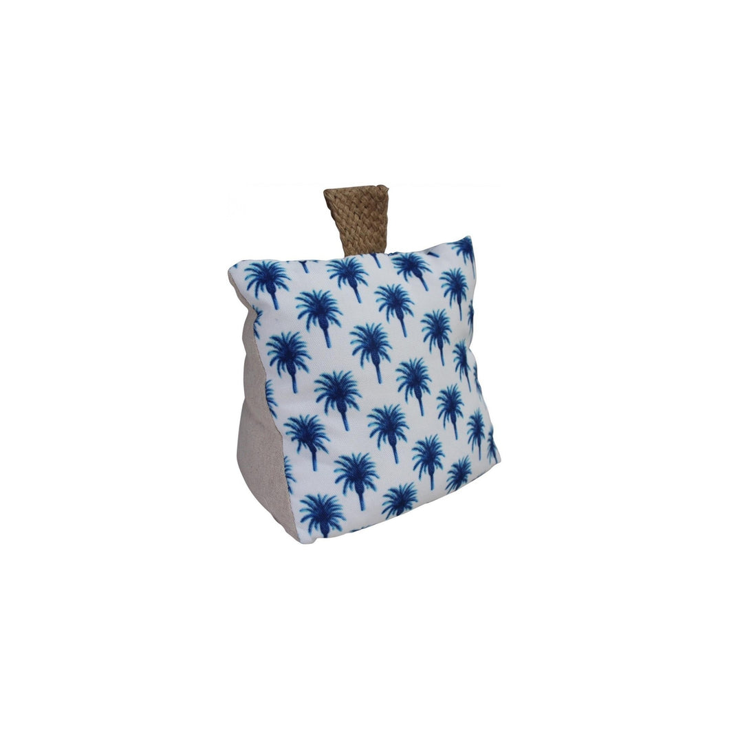 Blue Palm Doorstop  Homewares nz