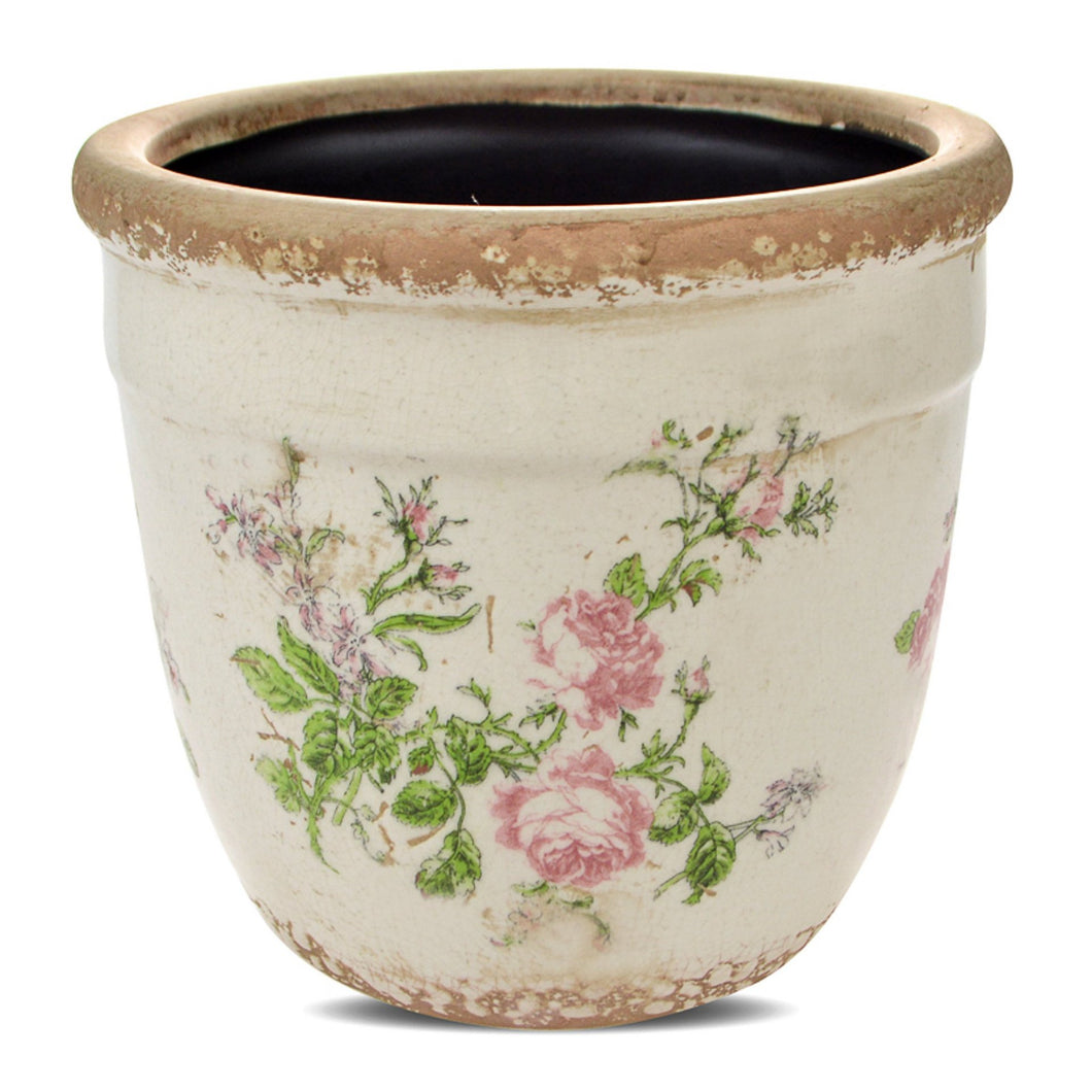 Vintage Rose Planter  Homewares nz