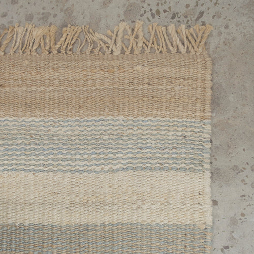 Whitsunday Grey Stripe Rug 180x270cm  Homewares nz