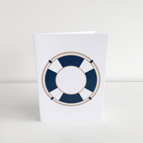 Standard Greeting Card - Life Ring Homewares nz
