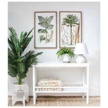 Load image into Gallery viewer, Panama Bamboo Hall Console Table - White Furniture nz