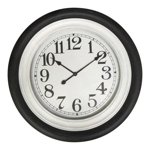 Black & White Nautical Clock 78cm  Homewares nz