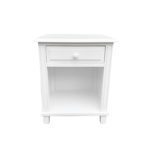 Cape Cod Bedside Table White furniture nz