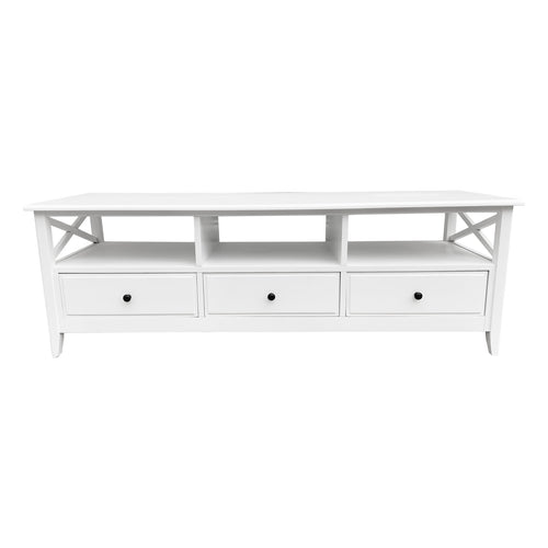 Cape Cod Entertainment Unit - White  Furniture nz