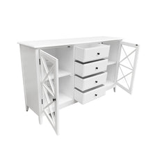 Load image into Gallery viewer, Cape Cod 4 Drawer Buffet - White Furniture nz