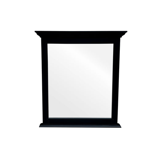 Cape Cod Tall Mirror - Black  Homewares nz