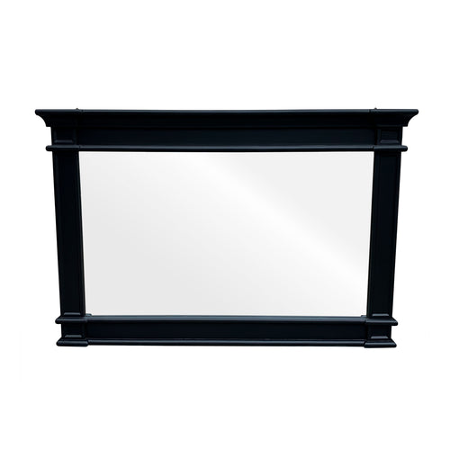Cape Cod Wide Mirror - Black  Homewares nz