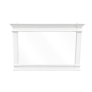 Cape Cod Wide Mirror - White  Homewares nz