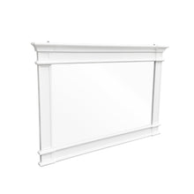 Load image into Gallery viewer, Cape Cod Wide Mirror - White  Homewares nz