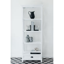 Load image into Gallery viewer, Hamptons Small Bookshelf - White  Furniture nz