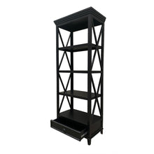 Load image into Gallery viewer, Hamptons Small Bookshelf - Black Furniture nz
