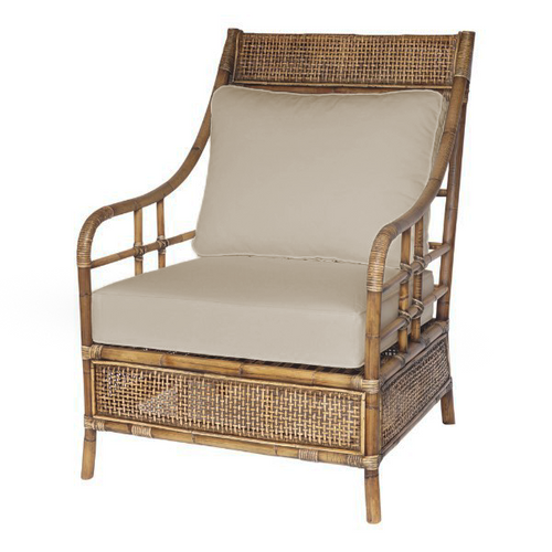 Havana Rattan Armchair With Cushions  Furniture nz