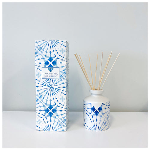 Indigo Diffuser Rose & Apricot 260ml  Homewares nz