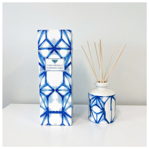 Indigo Diffuser Tudor Rose & Amber 260ml  Homewares nz