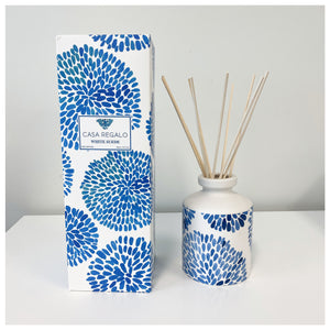 Indigo Diffuser White Suede 260ml  Homewares nz