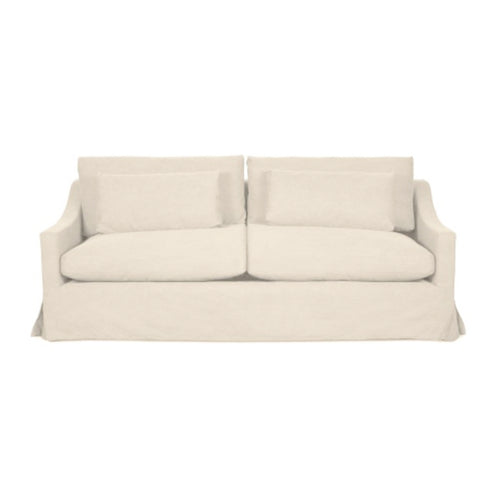 Newport 2.5 Seater Sofa - Natural (With Slip Cover)  Furniture nz