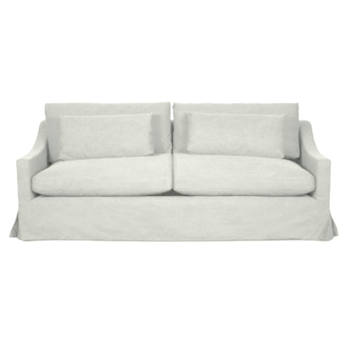 Newport 2.5 Seater Sofa - Sea Grey (With Slip Cover)  Furniture nz