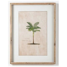 Load image into Gallery viewer, Palm Print In Cane Frame Homewares nz