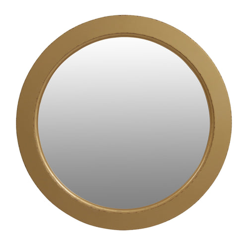 Parisian Round Mirror - Mustard  Homewares nz