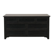 Load image into Gallery viewer, Riviera 7 Drawer Chest - Black  Furniture nz