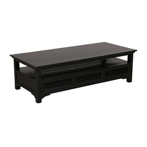Riviera Coffee Table - Black Furniture nz