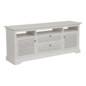 Riviera Entertainment Unit - White  Furniture nz