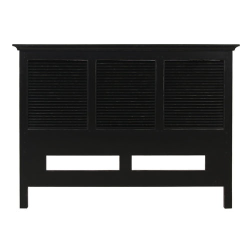 Riviera Queen Headboard - Black Furniture nz